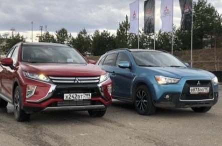 Mitsubishi ASX и Mitsubishi Eclipse Cross