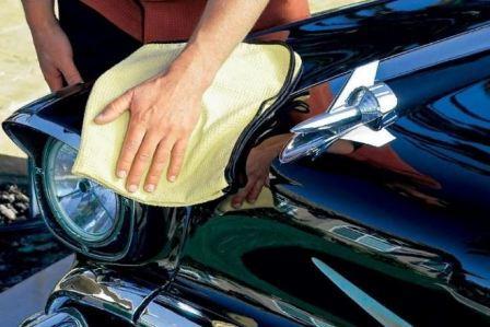 Этапы полировки авто