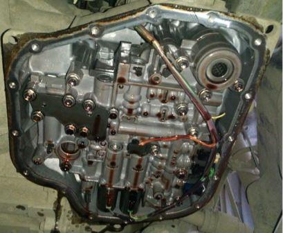 Замена масла в Toyota Corolla