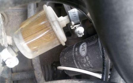 Замена масла в Audi 80