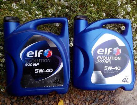Синтетика Elf Evolution 900 NF 5W-40