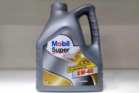 Моторное масло Mobil Super 3000х1 5W-40