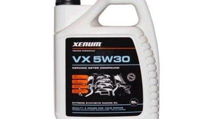 Обзор моторного масла Xenum VX 5W-30