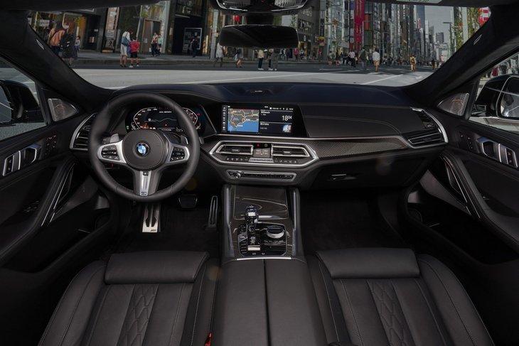 Салон BMW X6 2020