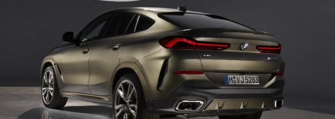 Внедорожник BMW X6 третьего поколения