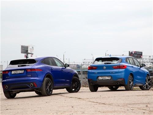BMW X2 and Jaguar E-Pace