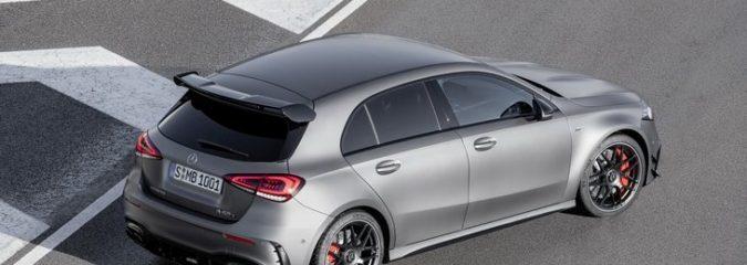 Mercedes представил AMG A 45 и AMG CLA 45