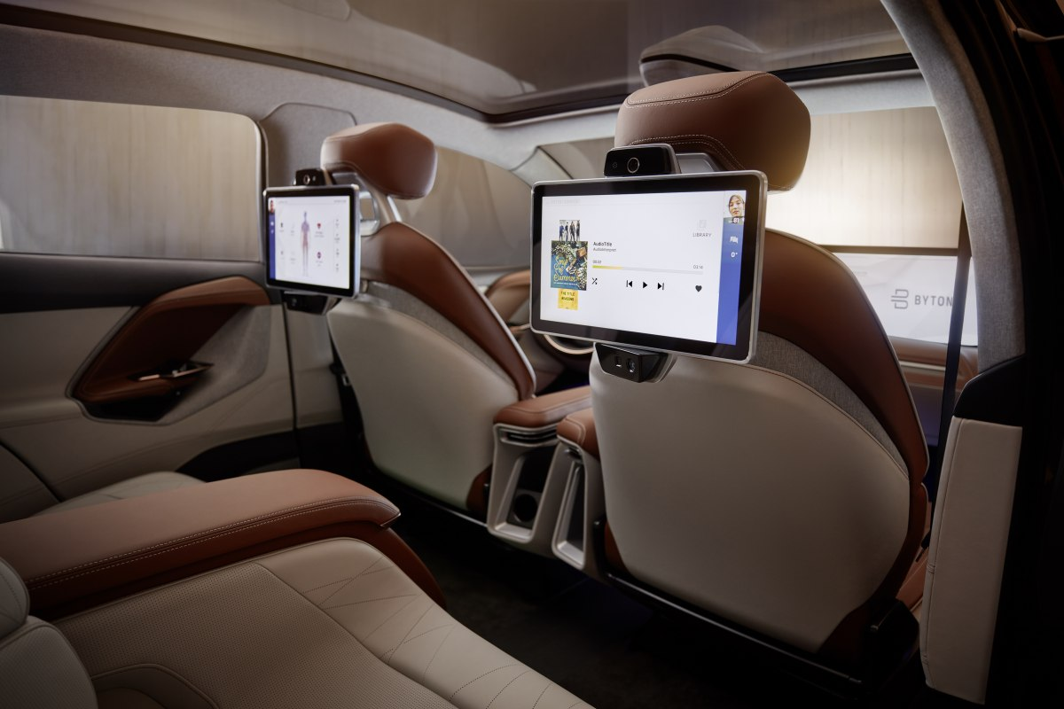Byton electric car