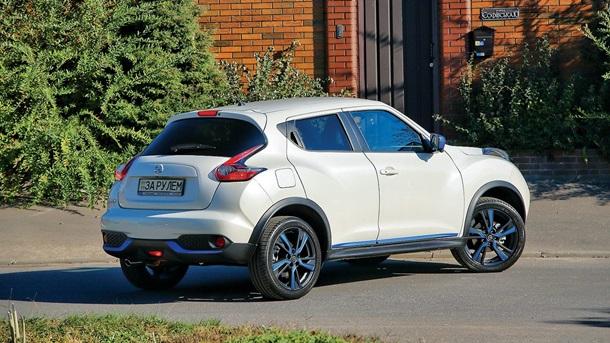 Дизайн обновленного Nissan Juke