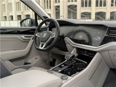 Volvo XC90, салон