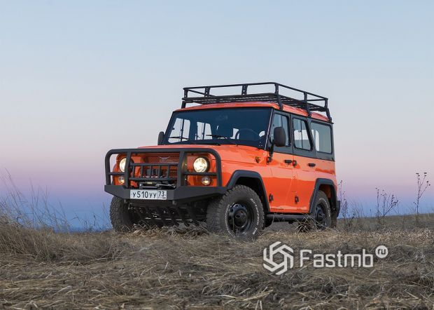 Browse UAZ hunter Expedition 2019-2020