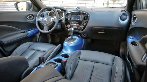 Салон обновленного Nissan Juke
