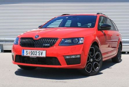 Skoda Octavia A7 New 2.0 TSI AT (230 л.с.) RS