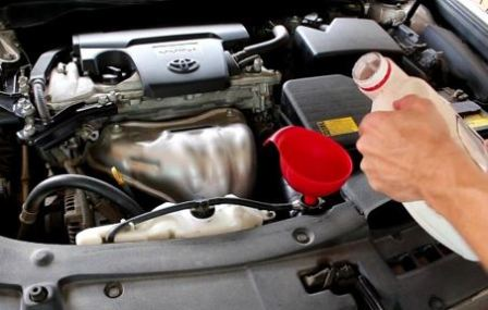 Replacing antifreeze