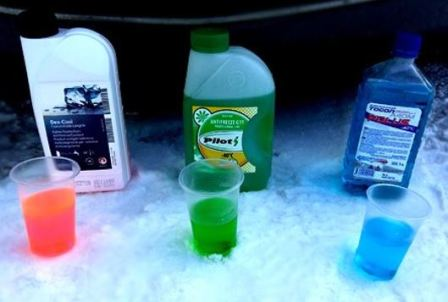 What does antifreeze mean