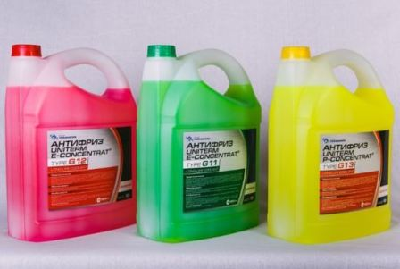 What is antifreeze in a machine