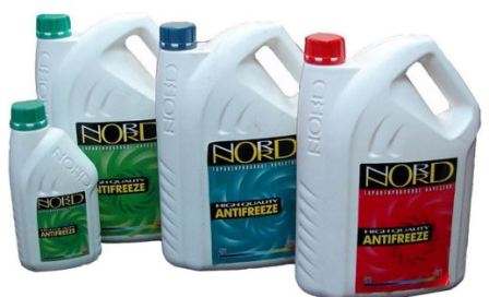 Antifreeze Nord characteristics