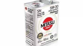Отзывы о масле Mitasu Platinum PAO SN 5W-30