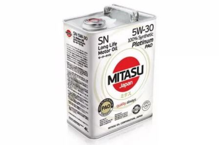 Отзывы Mitasu Platinum PAO SN 5W-30