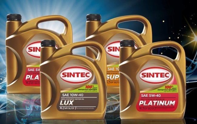 Моторное масло Синтек