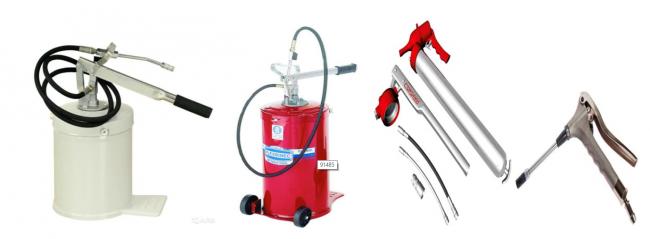 Классификация оборудования для замены масла в авто