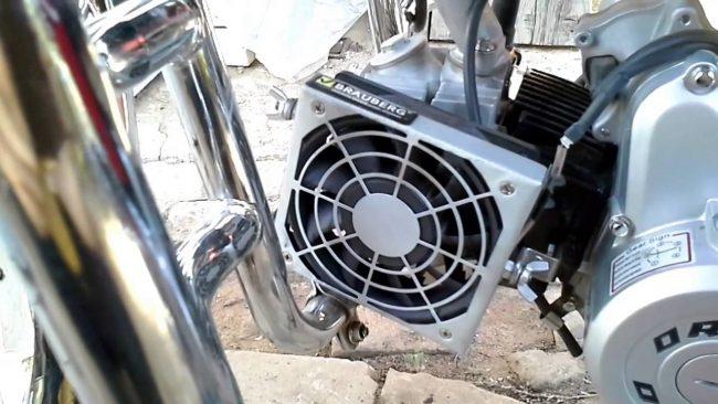 Воздушные системы охлаждения скутера