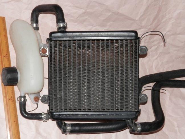 Жидкостные системы охлаждения скутера