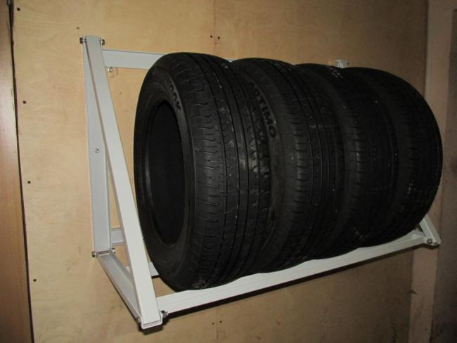 Как хранить шины без дисков