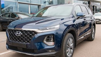 Hyundai Santa Fe: кроссовер последнего поколения