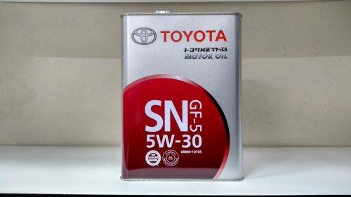 масло Тойота 5W30